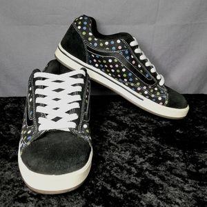 Vans Dollin No Skool Polka-dot sneakers